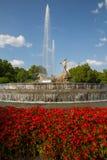 Neptuno fountain Royalty Free Stock Photography