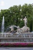 Neptuno square, Madrid, Spain Royalty Free Stock Photos