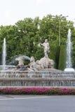 Neptuno square, Madrid, Spain Stock Photo