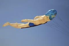 Neptunus vormde vlieger Stock Foto's