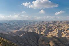 Neqev沙漠 库存照片