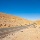 Neqev沙漠 图库摄影