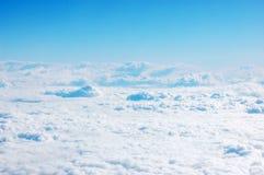 ner skyöversida Arkivfoton