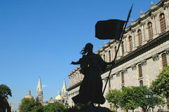 Ner stad i Guadalajara Royaltyfri Bild