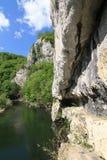 nera Румыния каньона Стоковое Фото
