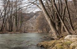 Nera rzeka Obrazy Royalty Free