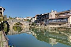 Nerac - Lot-et-Garonne - Frankreich Lizenzfreie Stockfotografie