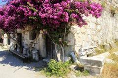 Neratzia Castle in Kos. Greece Royalty Free Stock Image
