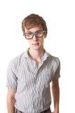 nerd σοβαρός Στοκ φωτογραφία με δικαίωμα ελεύθερης χρήσης