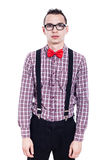 Nerd fashion Royalty Free Stock Photos
