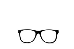 Nerd glasses with clipping paths Royalty Free Stock Image