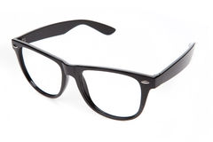Nerd glasses on isolated white background, Royalty Free Stock Image