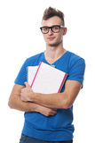Nerd guy Stock Images