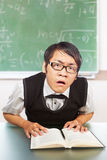 Nerd male student Stock Images