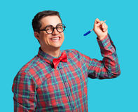Nerd man Royalty Free Stock Photography