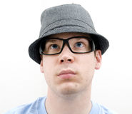 Nerd Portrait Stock Images