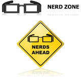 Nerds signs Royalty Free Stock Image