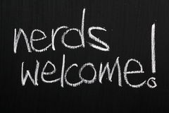 Nerds Welcome! Royalty Free Stock Photos