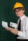 nerdy инженера смешное Стоковое Изображение RF