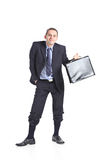 Nerdy businessman Stock Photos