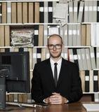Nerdy Businessman Stock Image