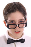 Nerdy genius Stock Photography