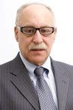 Nerdy Geschäftsmann Stockbild