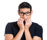 Nerdy guy Royalty Free Stock Image