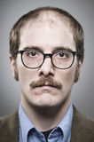 Nerdy Professor Portrait royalty free stock photos