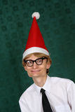 Nerdy Santa Royalty Free Stock Photo