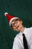 nerdy santa Стоковое Фото