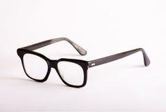 Nerdy schwarze Gläser Stockfoto