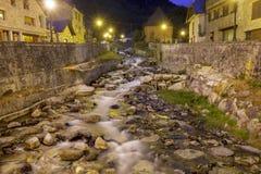 Nere river in Vielha, Catalonia, Spain Stock Image