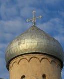 Nereditsa的救主教会 图库摄影