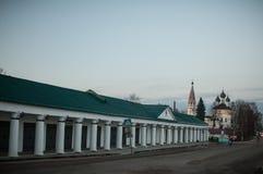 Nerekhta, область Kostroma Стоковое Изображение RF