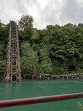 Neretva bridge in Jablanica Royalty Free Stock Photo