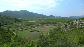 Neretva-delta, Croacia almacen de video
