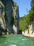 Neretva river Stock Image