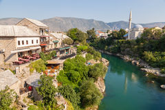 Neretva river Stock Images