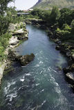 Neretva river Stock Image