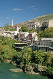Mostar in bosnia herzegovina Royalty Free Stock Photo