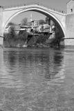 Neretva rzeka z Mostar, Zdjęcia Stock