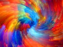 Énergie colorée Photographie stock libre de droits