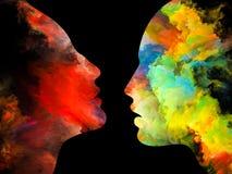 Énergie de couleurs intérieures Image stock