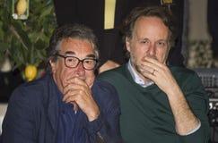 Neri parenti and francesco bruni directors cinema Stock Photos