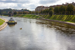 Neris river Stock Images