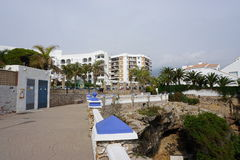 Nerja. In Andalusia from Spain Royalty Free Stock Photo