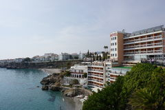 Nerja. In Andalusia from Spain Stock Image