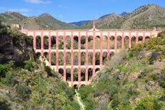 Nerja aqueduct Royalty Free Stock Image