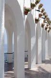 Nerja. Balcon de Europa. Beautiful architectural feature in Nerja ,Spain. Also known as Balcon de Europa Stock Photo